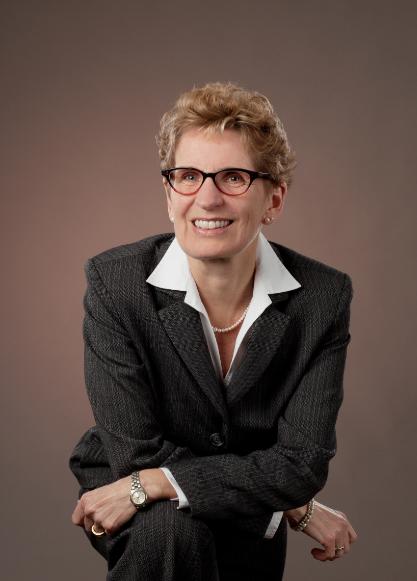 Kathleen Wynne portrait