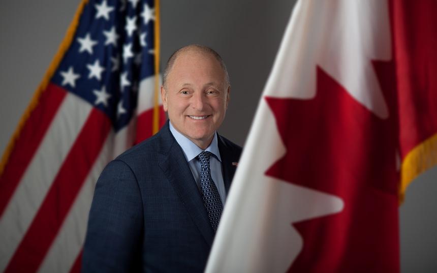 Ottawa portrait of US ambassador Heyman