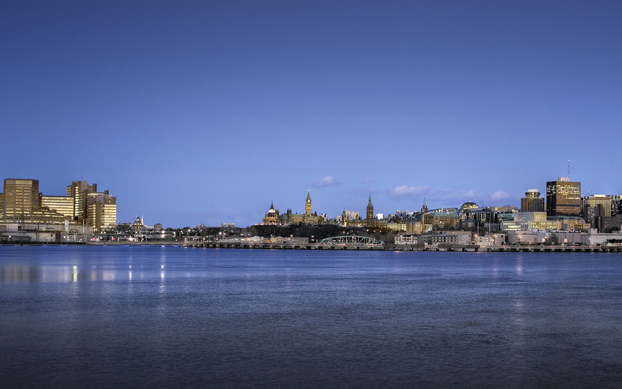 Photograph of an Ottawa Skyline