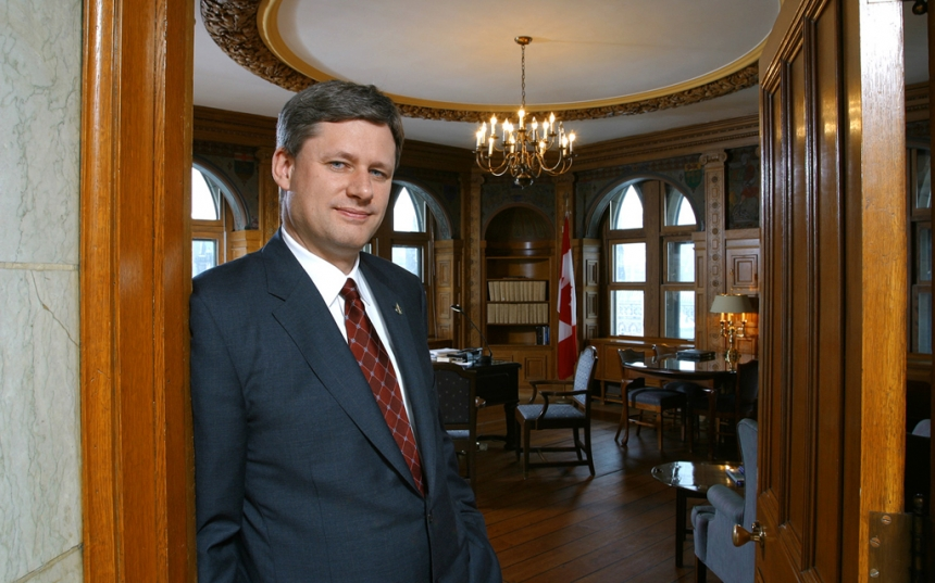 Ottawa Portrait of Stephen Harper