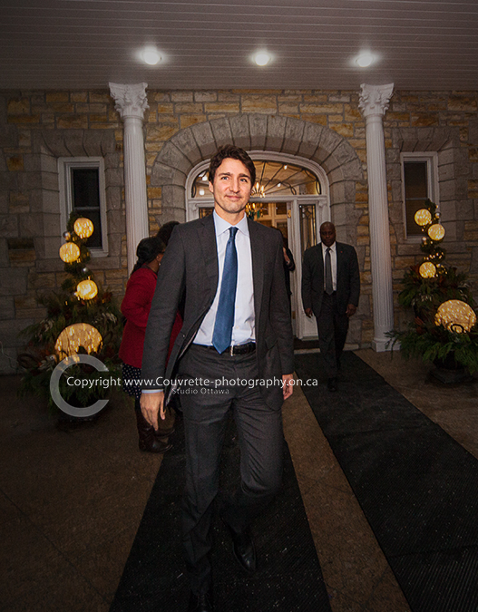 Justin Trudeau US Embassy photography
