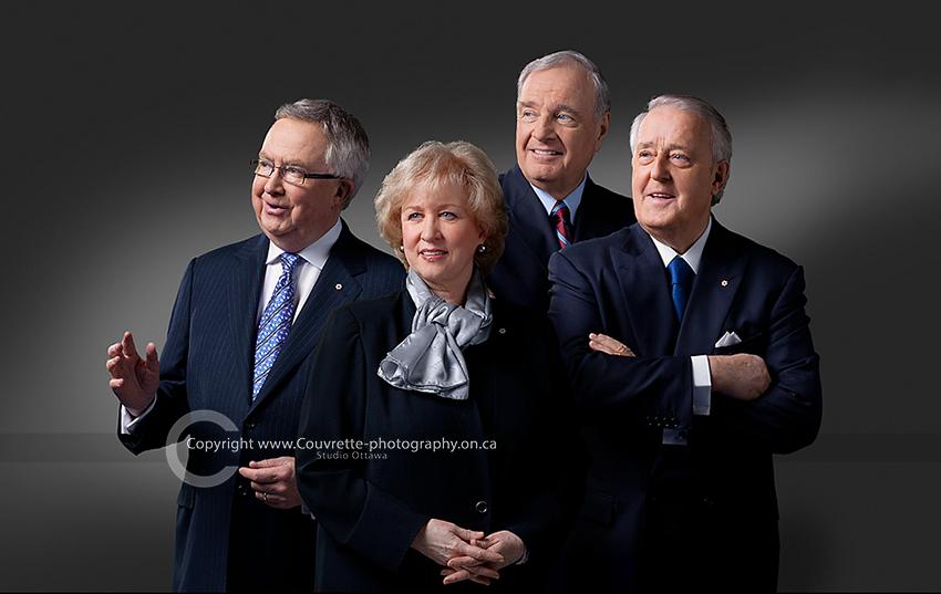 Joe Clark Kim Campbell Paul Martin Brian Mulroney Canadian Prime Ministers.
