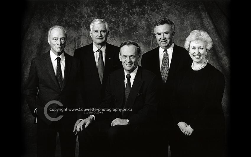 Pierre Trudeau John Turner Jean Chretien Joe Clark Kim Campbell Canadian Prime Ministers.