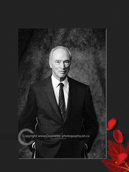 Pierre Trudeau portrait photography