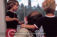 Pierre and Justin Trudeau portrait