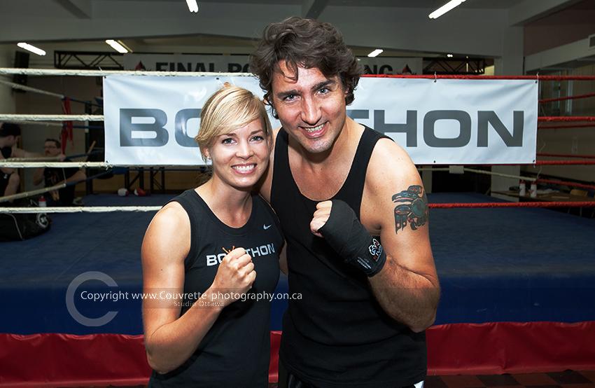 Justin Trudeau boxathon
