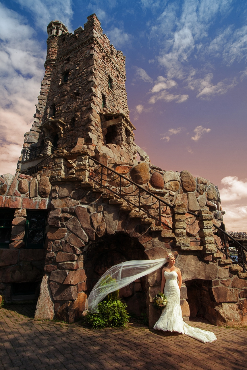 Ottawa Wedding image at Boldt Castle