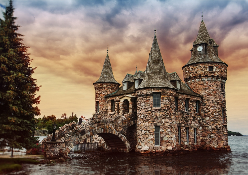 Boldt Castle, A wedding venue